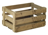 wooden wine crate