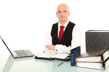 ordentlicher Geschäftsmann