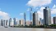 Urban landscape of shanghai city