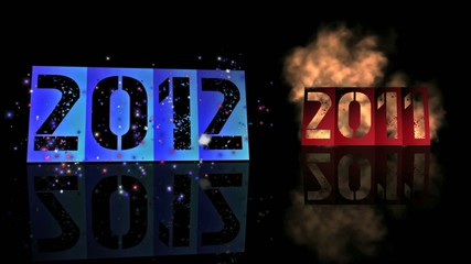 2011 to 2012 (new year)