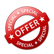"""SPECIAL OFFER"" Marketing Stamp (sale limited offers web button)"