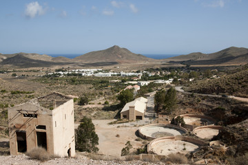 Ruins of Rodalquilar Gold Mine - Cabo de Gata