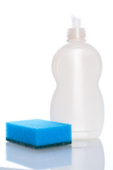 Collection of hygiene cleaners for housework