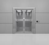 Aufzug mit Glastüren