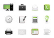 Icons Set for Web Applications, Office icons