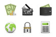 Icons Set for Web Applications, business & shopping icons