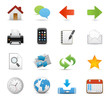 Internet & Website icons, Universal icons Set - Vector icons