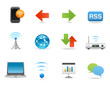 Website icons, Universal Internet & Wireless Icons Set