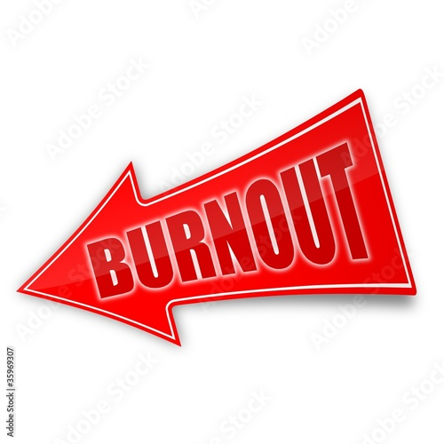 sticker pfeil burnout 1