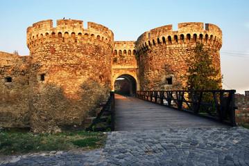Kalemegdan fortress in Belgrade, Zindan gate