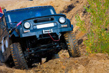 Off roading thrill poster