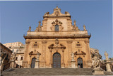 BAROQUE CHURCH OF SAN PIETRO, MODICA, SICILY