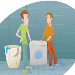 casalingo lavatrice