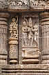 Amatory sculptures at Sun temple Konark