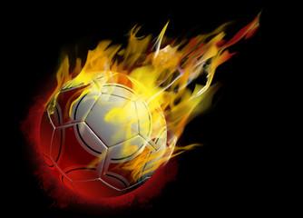 pallone fuoco