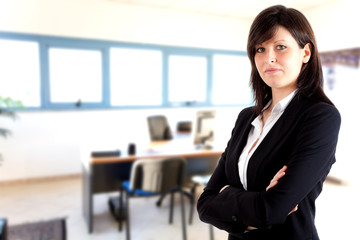 Young businesswoman portrait