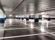 Leinwanddruck Bild - Parking souterrain