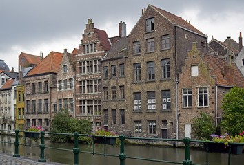 Canals in Ghent City