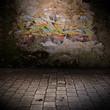 mur grunge - graffiti - 35978739