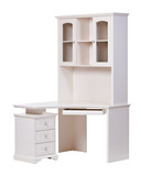Workstation over white, with clipping path poster