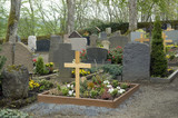 graveyard in the Vulkan Eifel poster