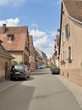 street scenery in Mittelbergheim