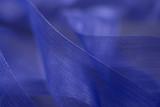 blue filigree strap detail poster
