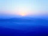 Fototapety blue ridge mountains