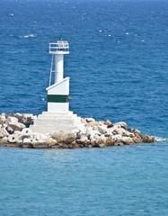 Lighthouse on a sea