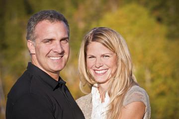 Beautiful Middle-aged Couple Portrait
