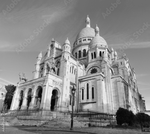 Basilique du Sacre Coeur after Surise @ Montmartre, Paris