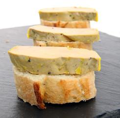 Toasts foie gras