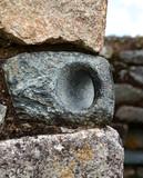 Typical Incan Stonework - Door Holder poster