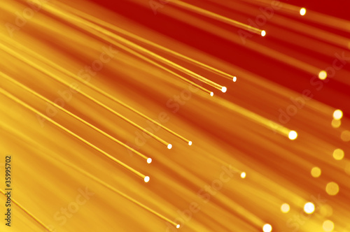 Abstract fiber optic background - 35995702