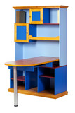 Children workstation over white, with clipping path poster
