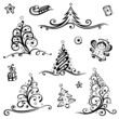 Weihnachten, Nikolaus, christmas vector set