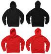 Leinwandbild Motiv Blank hoodie sweatshirts
