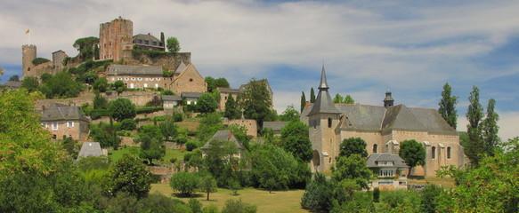 Village de Turenne ; Limousin ; Quercy ; Périgord