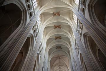 Nave de la catedral de Nantes