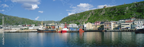 Panorama Kirkenes harbour