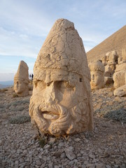 Nemrut a world heritage site in turkey
