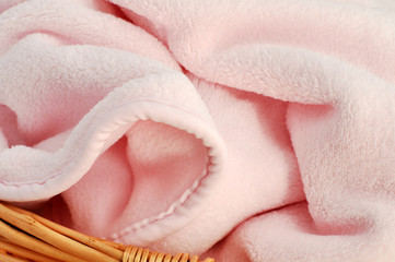 Soft Pink Baby Blanket