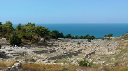 ruins of Kamiros town