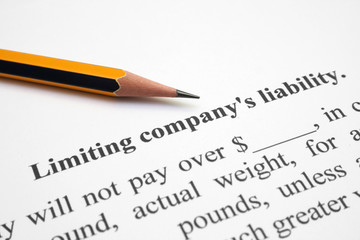 Limiting company liability