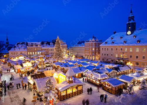 Weihnachten im Erzgebirge, Weihnachtsmarkt in Annaberg-Buchholz - 36004533