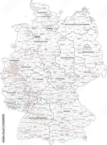 Deutschland Wahlkreise