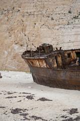Ship wreck on Navagio beach