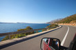 Driving the Croatian coast