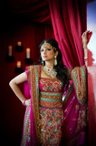 Fototapety Indian Bride Standing