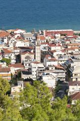 View at town of Zante - Zakynthos Greece